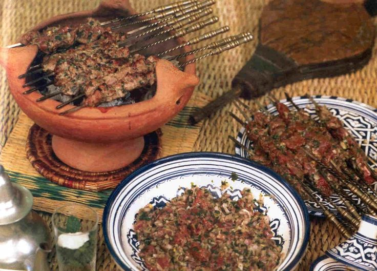 Moroccan recipes for Eid Al-Adha: Meshwi and Sheep's liver Kebab