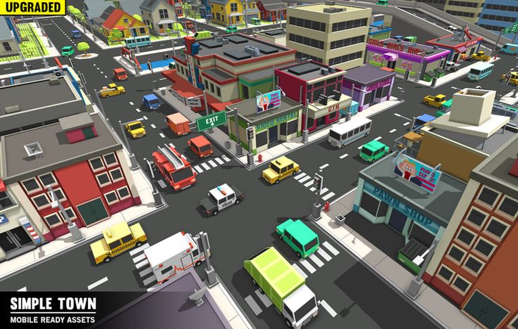 Simple World - Volume One - Asset Store