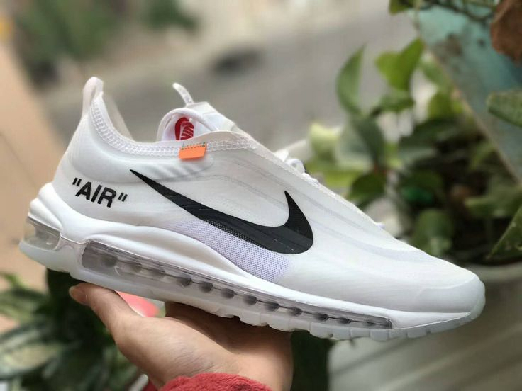 OFF White Nike Air Max 97 AJ4585 X100 Use Transparent Plastic Material The Highest Technology Of Perfection New Release