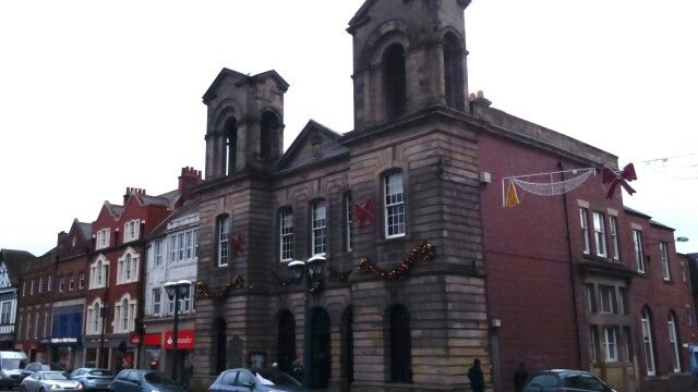 Morpeth Town Hall, Northumberland