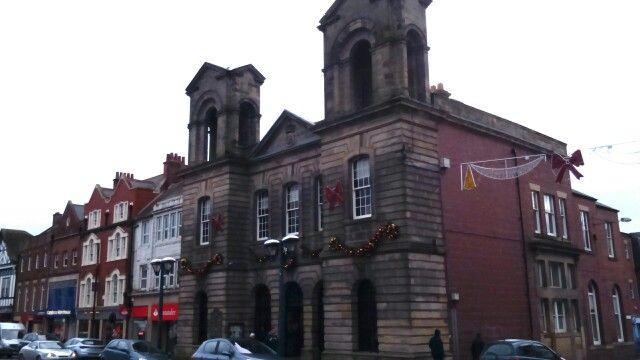 Morpeth Town Hall, Northumberland