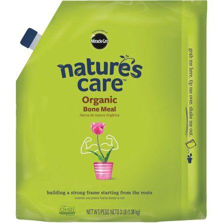 Miracle-Gro Nature's Care Organic Bone Meal 3 lbs, Green