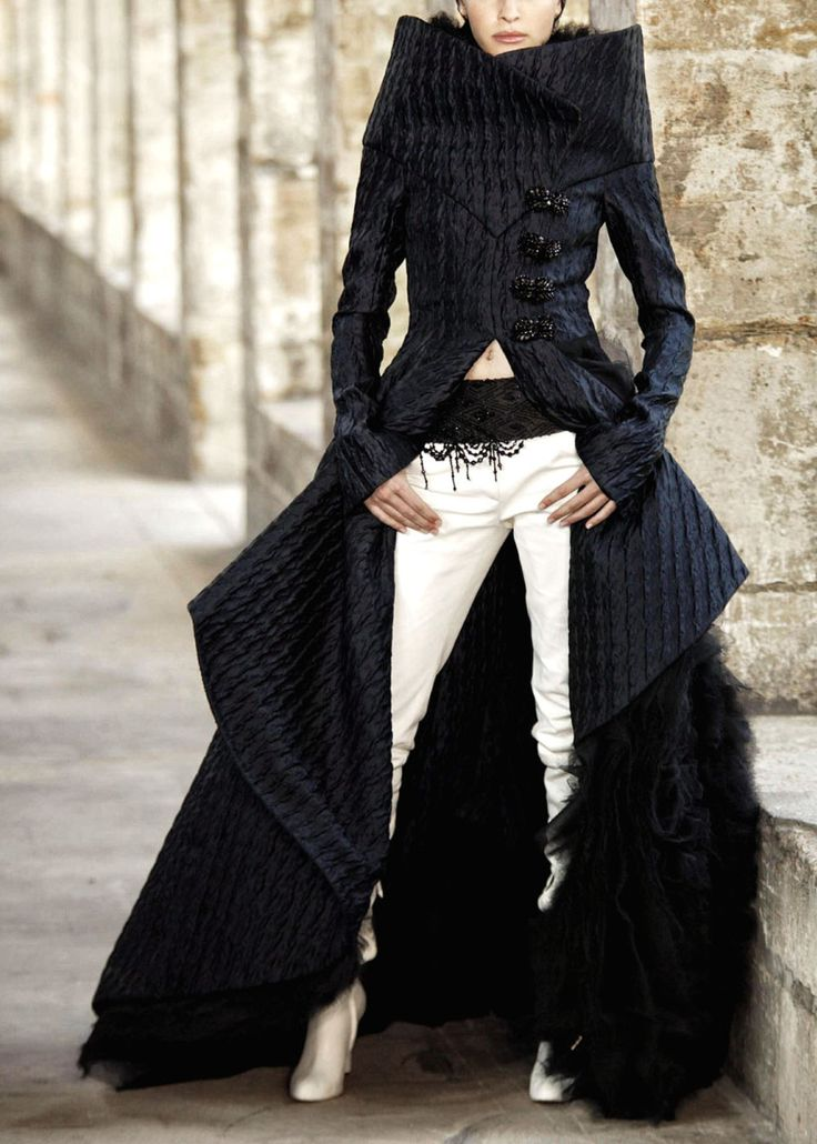 ChanelWomen Jackets, Chanel, Style, Clothing, White, Sweets Fashion, Black, Coats, Haute Couture