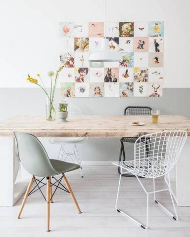 interior design instagram white study