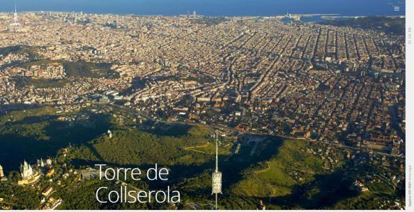 LA TEVA WEB y la prestigiosa agencia de diseño Mariona Design hemos lanzado la página web oficial de la Torre de Collserola.