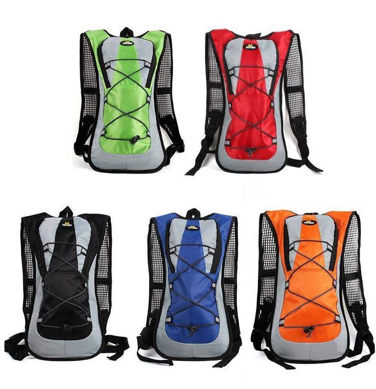 Mini Running, Camping Hiking, Climbing Backpack 2L Water Bag