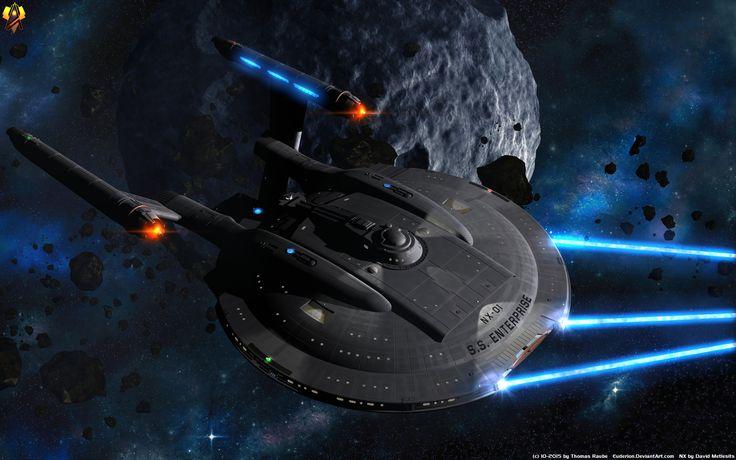 Séries TV Enterprise  Star Trek Enterprise Science Fiction Vaisseau Spatiale Fond d'écran