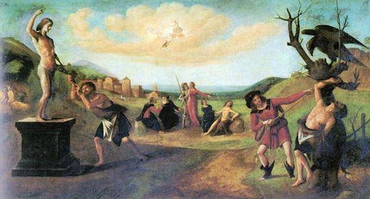 Le mythe de Prométhée de Piero di Cosimo