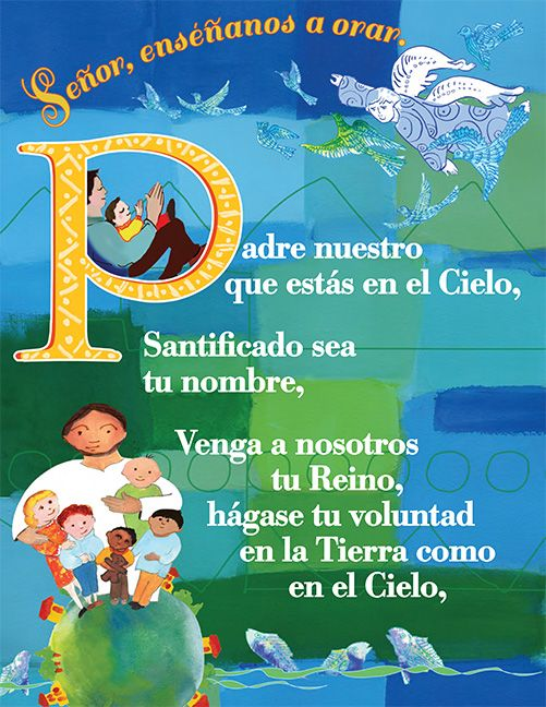 Tarjeta del Padre nuestro - Prayer Card