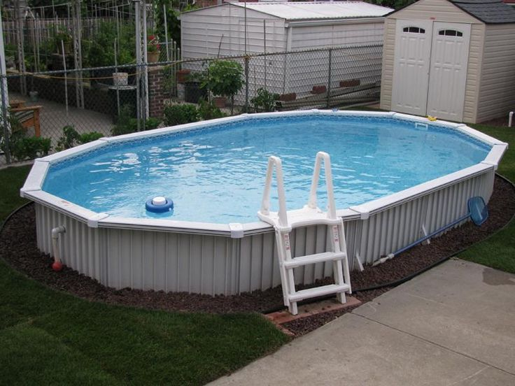 17 Best Images About Pools Semi Inground Above Ground On