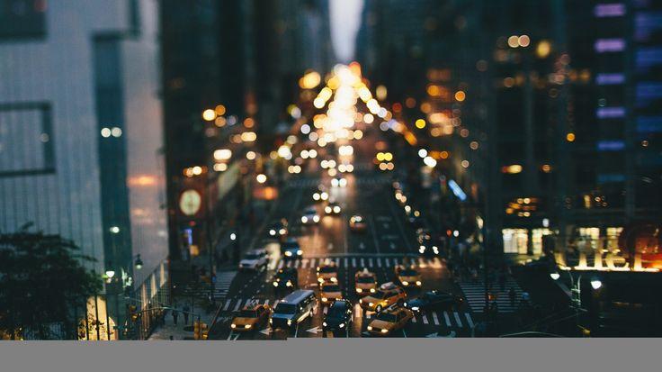 Скачать обои соединенные штаты, нью-йорк, здания, раздел город в разрешении 1366x768