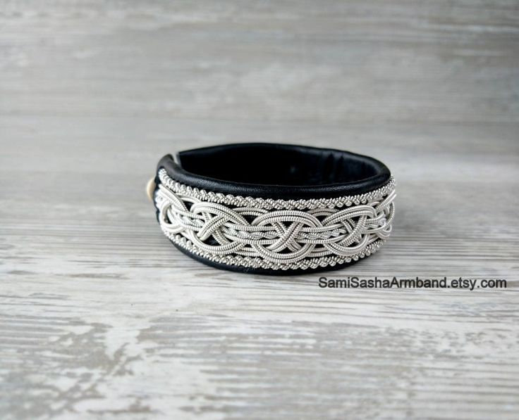 Scandinavian jewelry Leather Swedish bracelet Sami Viking bracelet Saami bracelet Lapon bracelet Lapland Nordic bracelet Beauty Gifts