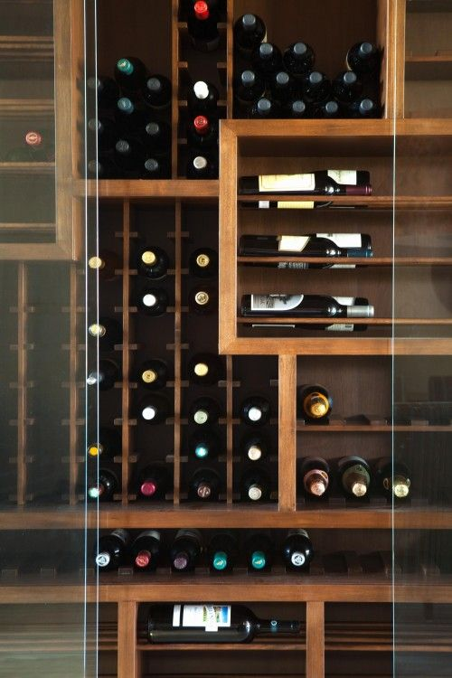#wine storage © 2012 MICHAEL FULLEN DESIGN GROUP                                                                                                                                                      More