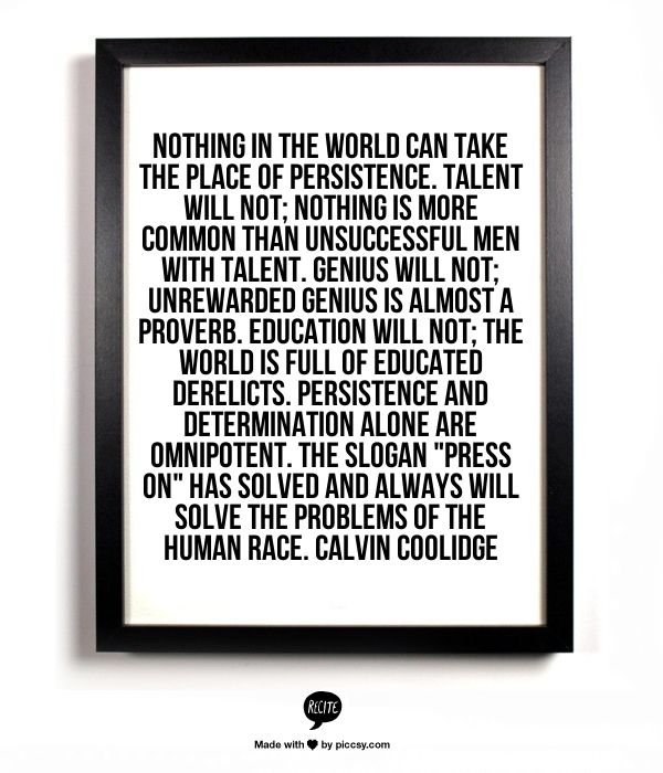 Persistence Motivational Quotes: Best 20+ Calvin Coolidge Quotes Ideas On Pinterest