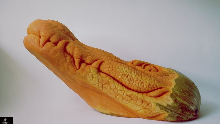 AMAZING PUMPKIN: fruit animals: crocodile: coccodrillo: zucca: trái cây ...