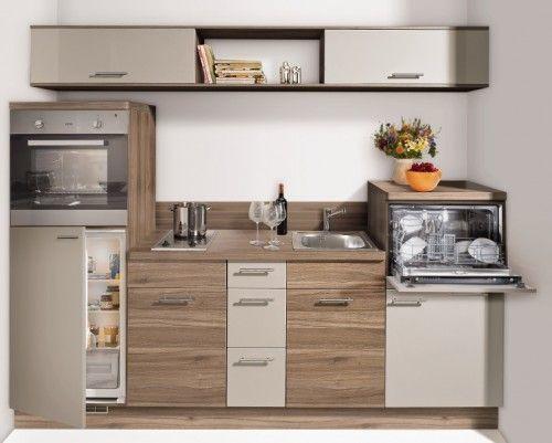 Preiswerte Küchen Ideen | Kleine einbauküche, Einbauküche ...