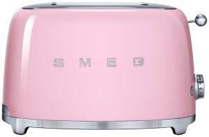 Smeg 2-Slice Toaster-Pink