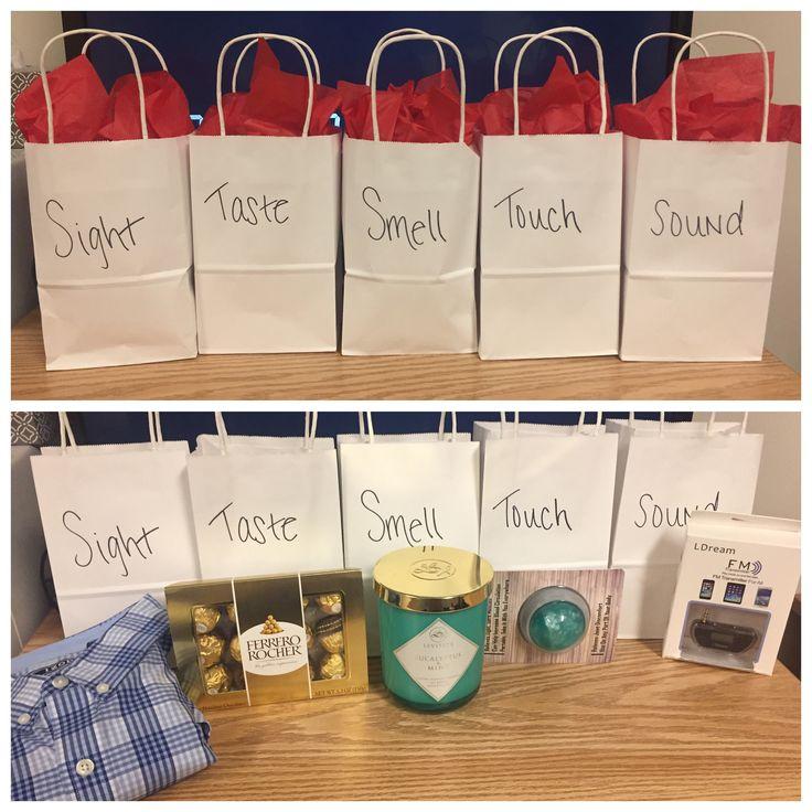 5 Senses Gift For Him #Valentines #5Senses