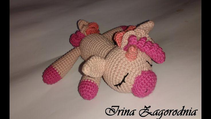 Единорог крючком / Единорог Соня - пони // Crochet unicorn - YouTube