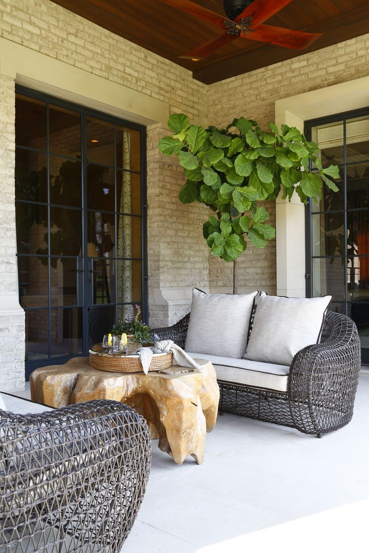 Wayfair outdoor furniture ideas modern home design and decorating - Contemporary Exterior Patio Images By Chancey Design Partnership