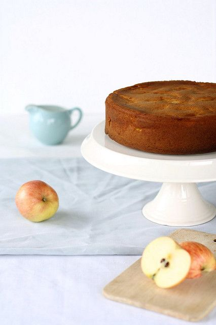 apple cake too