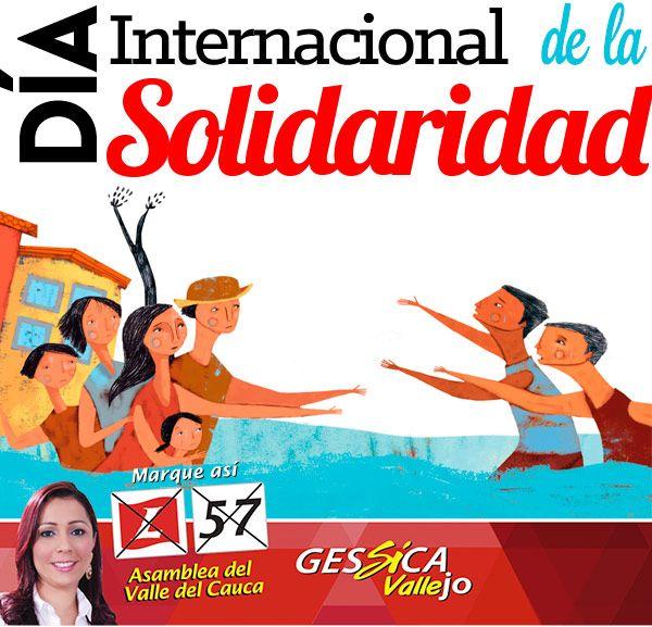 31 de Agosto, día internacional de la Solidaridad.