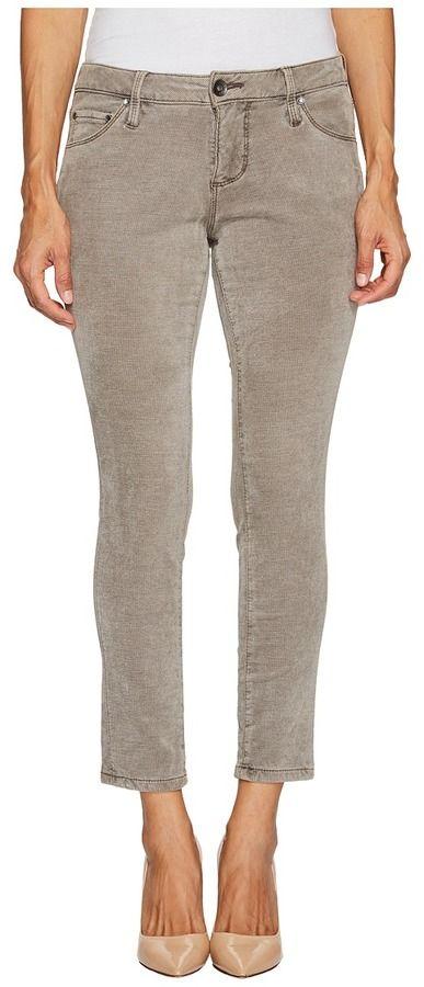 Jag Jeans Petite - Petite Mera Skinny Ankle in Plush Waffle Knit Women's Jeans