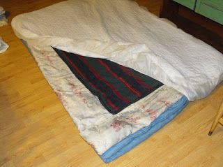 Little Living, Big Picture: Home Made Futon Mattress