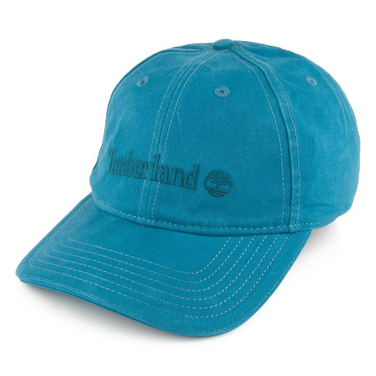Timberland Hats 6 Panel Baseball Cap - Blue