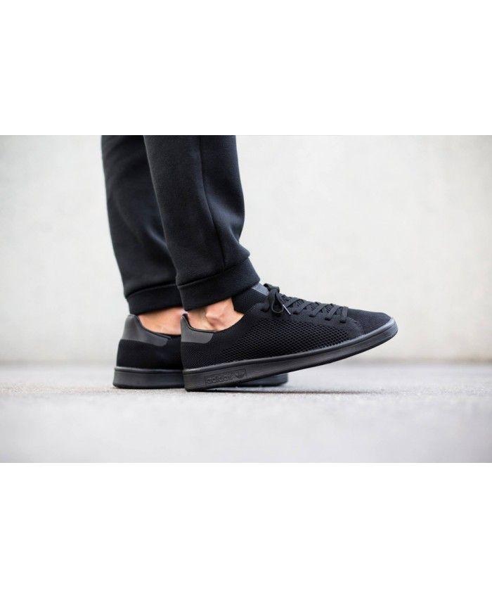 wholesale dealer 8a0b6 bdd70 Adidas Sale Originals Stan Smith Primeknit Black trainers ...
