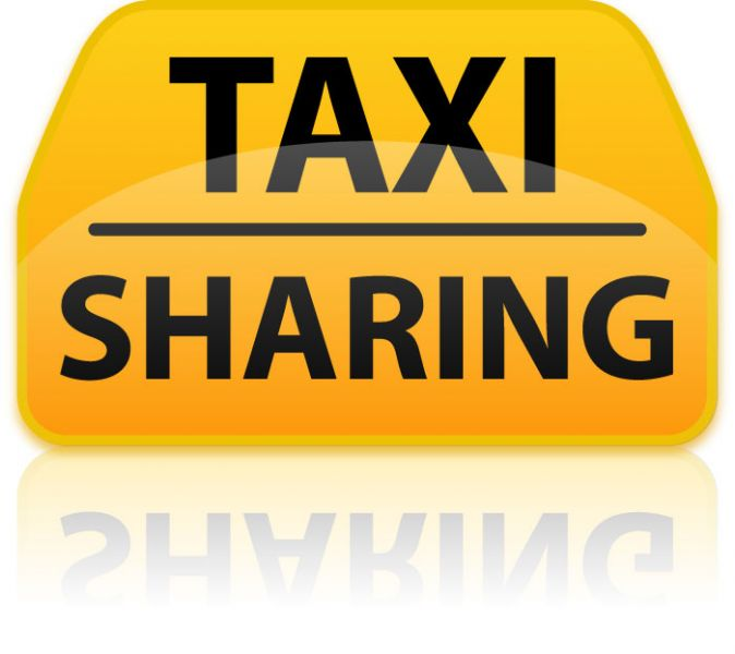 Taxi sharing available from or to St Andrews and Dundee