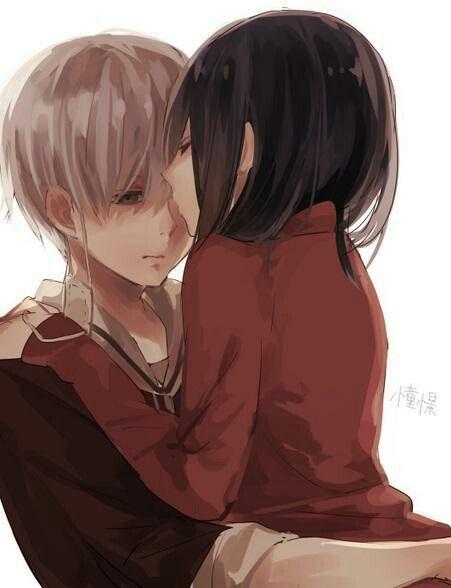 anime tokyo ghoul kaneki and touka relationship