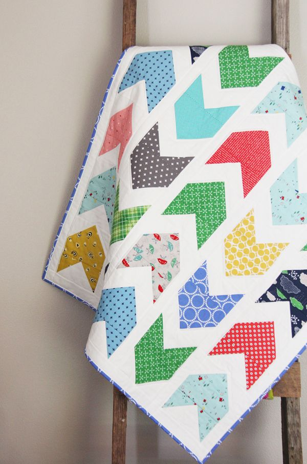 Rainy Day Baby Pow Wow Quilt   Cluck Cluck Sew