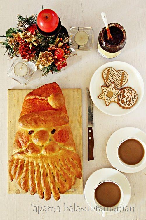 Golden Santa Bread!