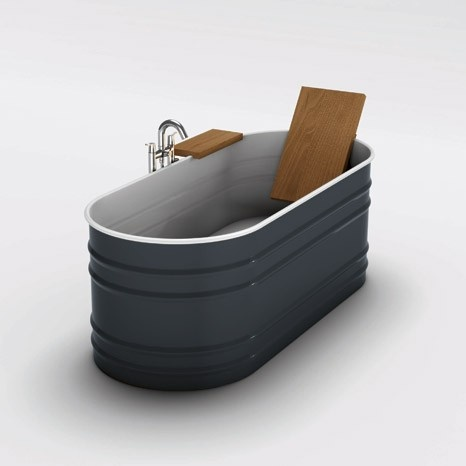 Trough Bathtub : updated horse trough bathtub Bathroom inspirations Pinterest Kid ...