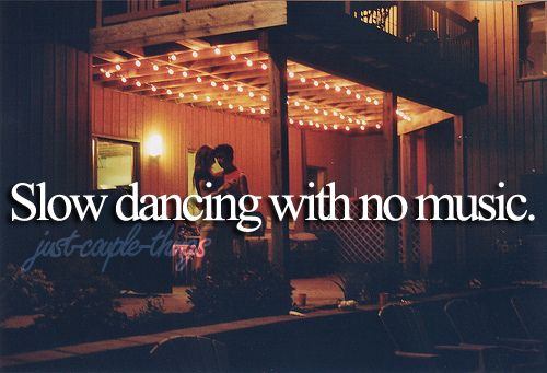 dance together without music