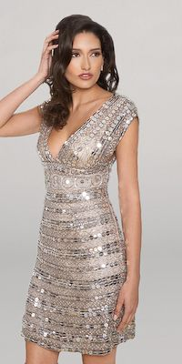 Best 20  Silver cocktail dress ideas on Pinterest | Art deco dress ...