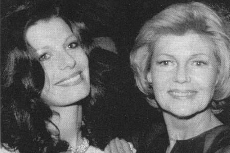 Rita Hayworth and her daughter, Princess Yasmin Aga Khan