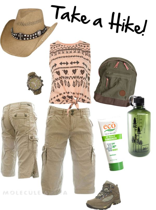 """Take a Hike! Hiking and Camping Clothes for Women"" by mattifycosmetics on Polyvore"