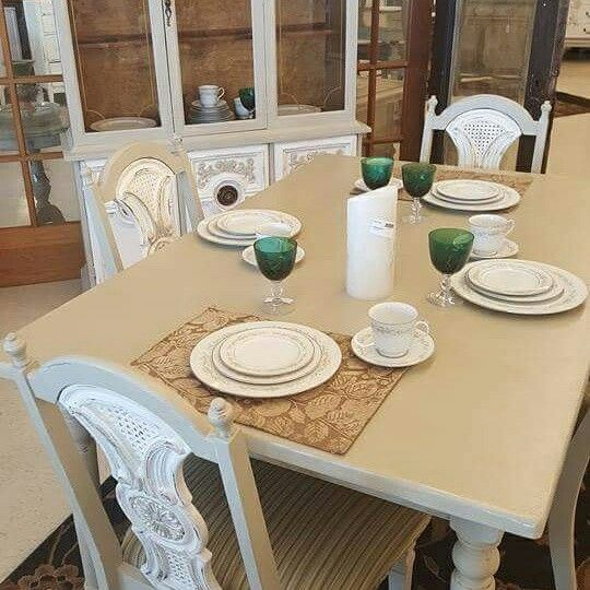 Chalk Country Paint Cream Of Wheat And Vintage Olive. Furniture Can Be  Found @ 60. Cream Of WheatBattle CreekVintage ...