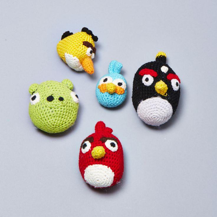 Cerdo Angry Birds Amigurumi : 1000+ images about Amigurumi geek on Pinterest Amigurumi ...
