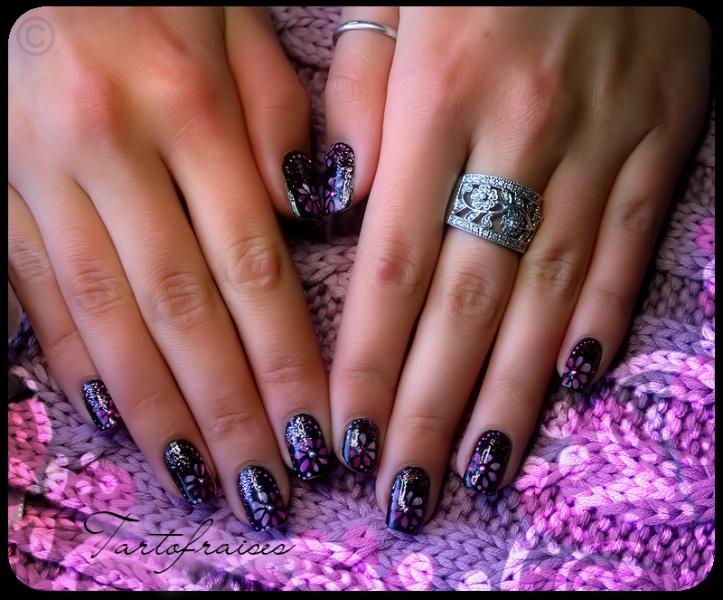 ♥ Nail Art On Natural NailsReal Nails, Natural Nails, Www Nails Art Fr, Nails Polish, Nature Nails
