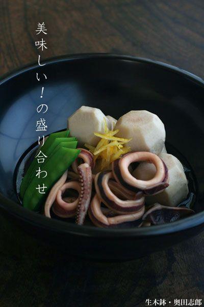 「ようび好き」は、きっと「ふでばこ好き」です・・・きっと。:生木鉢・奥田志郎:和食器・漆器 japanese tableware
