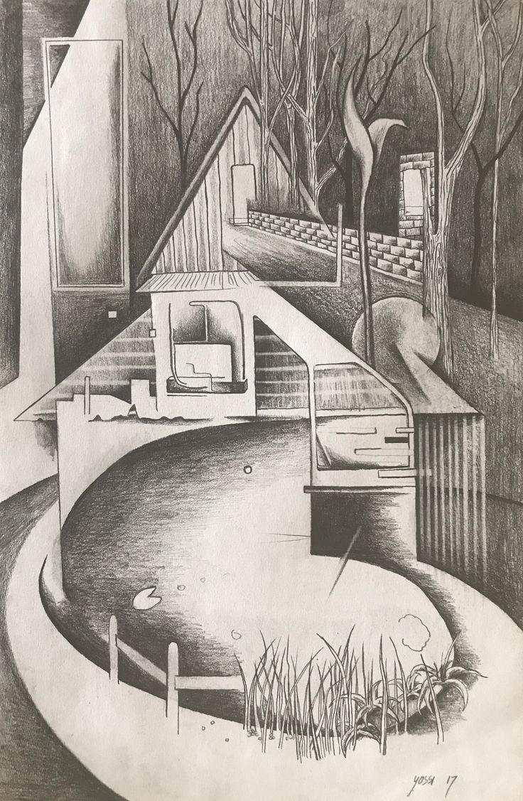 Graphite on paper, 2017, A4