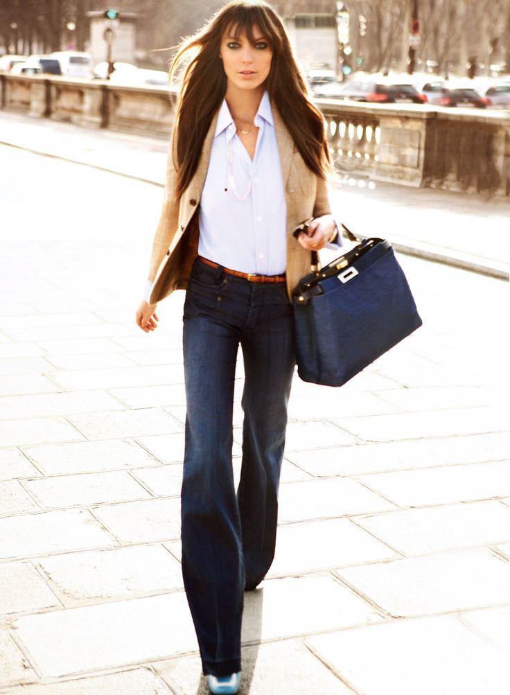 best fitting white jeans - Jean Yu Beauty