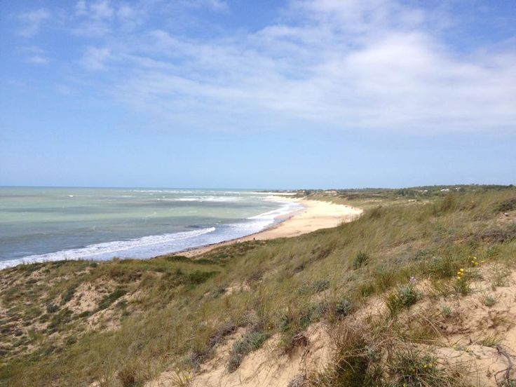 dune et plage d'oléron