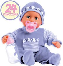 Bayer Design Funktionspuppe First Words Baby Weichkörperpuppe Babypuppe Puppe