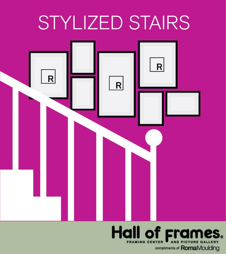16 besten Wall Groupings Bilder auf Pinterest   Frame-layout, Rahmen ...