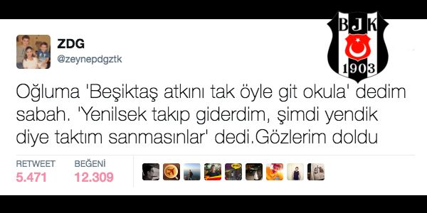 """Şampiyon Beşiktaş'ın Büyük Taraftarının Bir Sezon Boyunca Attığı En Siyah Beyaz 23 Tweet """"Şampiyon Beşiktaş'ın Büyük Taraftarının Bir Sezon Boyunca Attığı En Siyah Beyaz 23 Tweet""""  https://yoogbe.com/spor/sampiyon-besiktasin-buyuk-taraftarinin-bir-sezon-boyunca-attigi-en-siyah-beyaz-23-tweet/"""