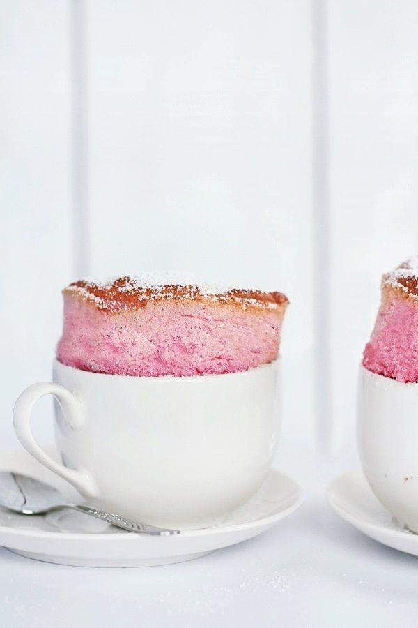 raspberry souffle//